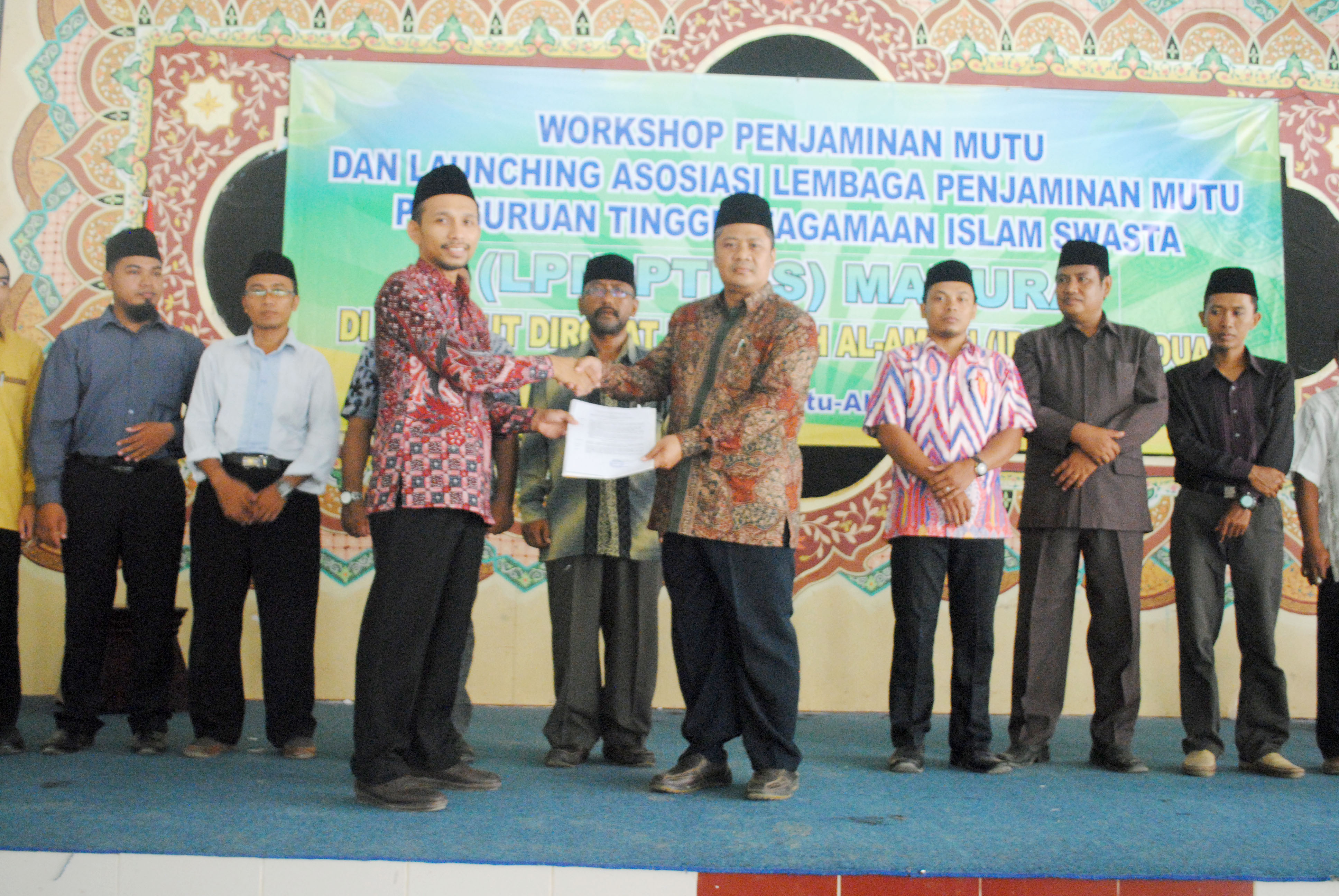 WORKSHOP PJM DAN LAUNCHING LPM PTKIS SE-MADURA DI IDIA PRENDUAN