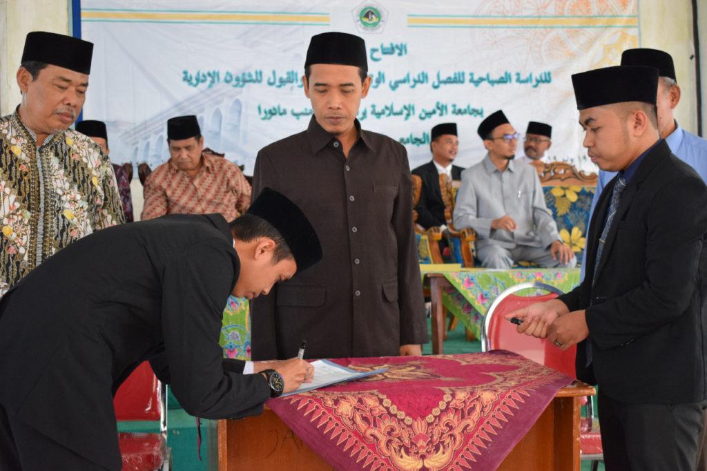 Serah Terima Jabatan dan Pembukaan Kuliah Kepondokan Institut Dirosat Islamiyah Al-Amien Prenduan